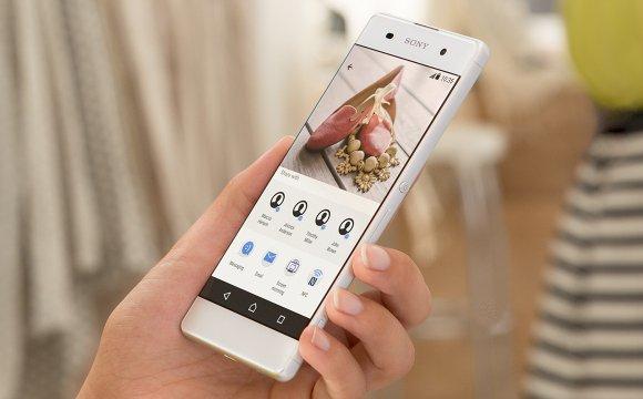 Sony Xperia X, фото производителя