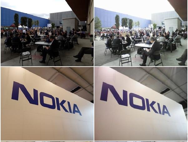 Galaxy S7 edge — слева, Nokia 3310 — справа