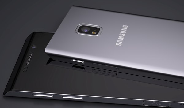 Один из концептов Galaxy S7