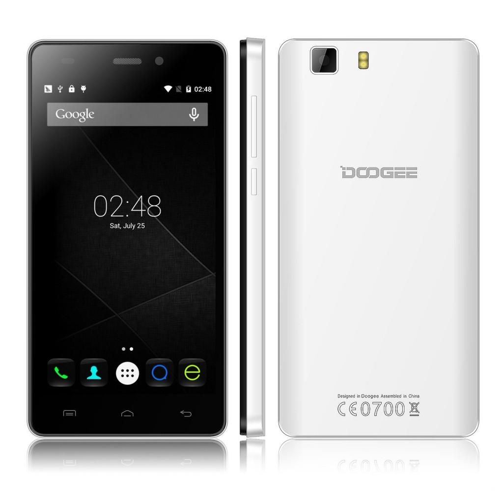 Doogee X5 в белом корпусе