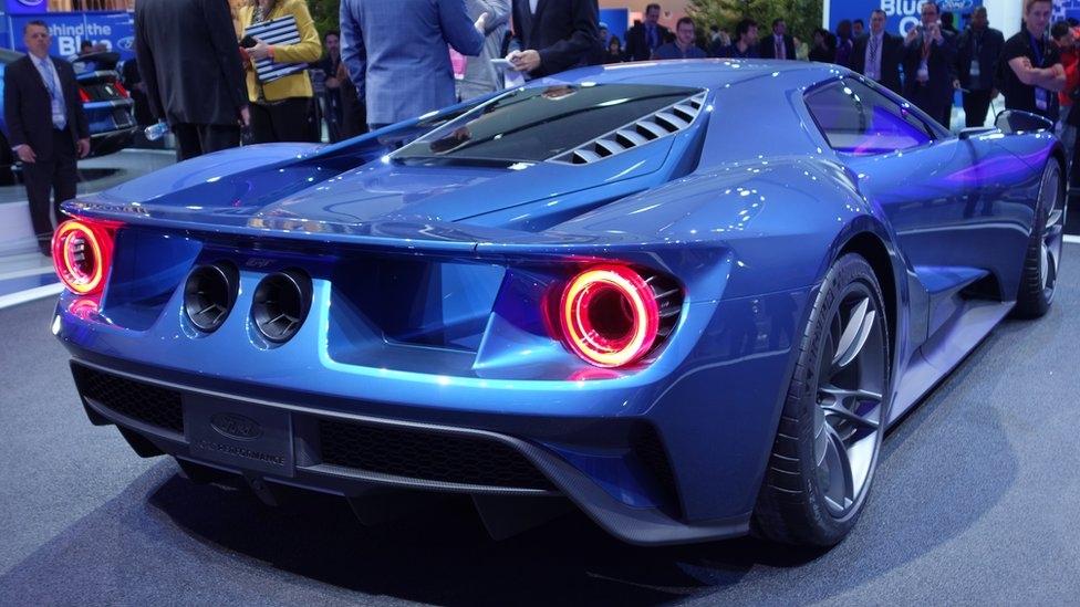 Ford GT, фото caranddriver.com