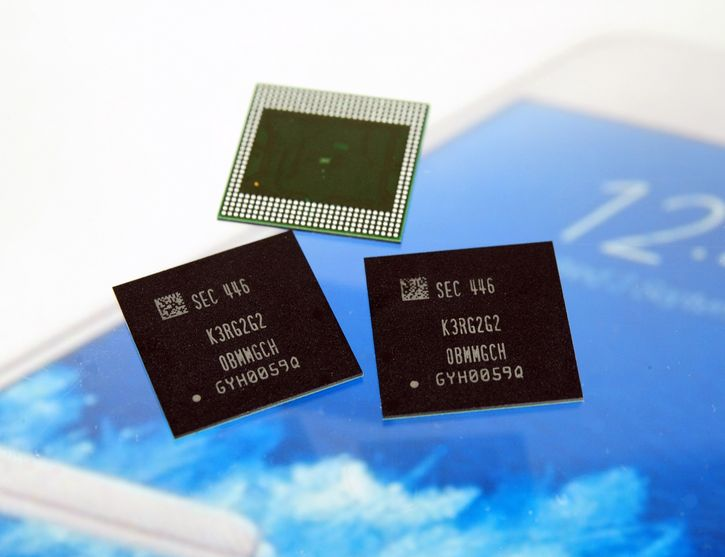 Модуль мобильной оперативной памяти Samsung с объёмом 6 ГБ. Фото производителя.